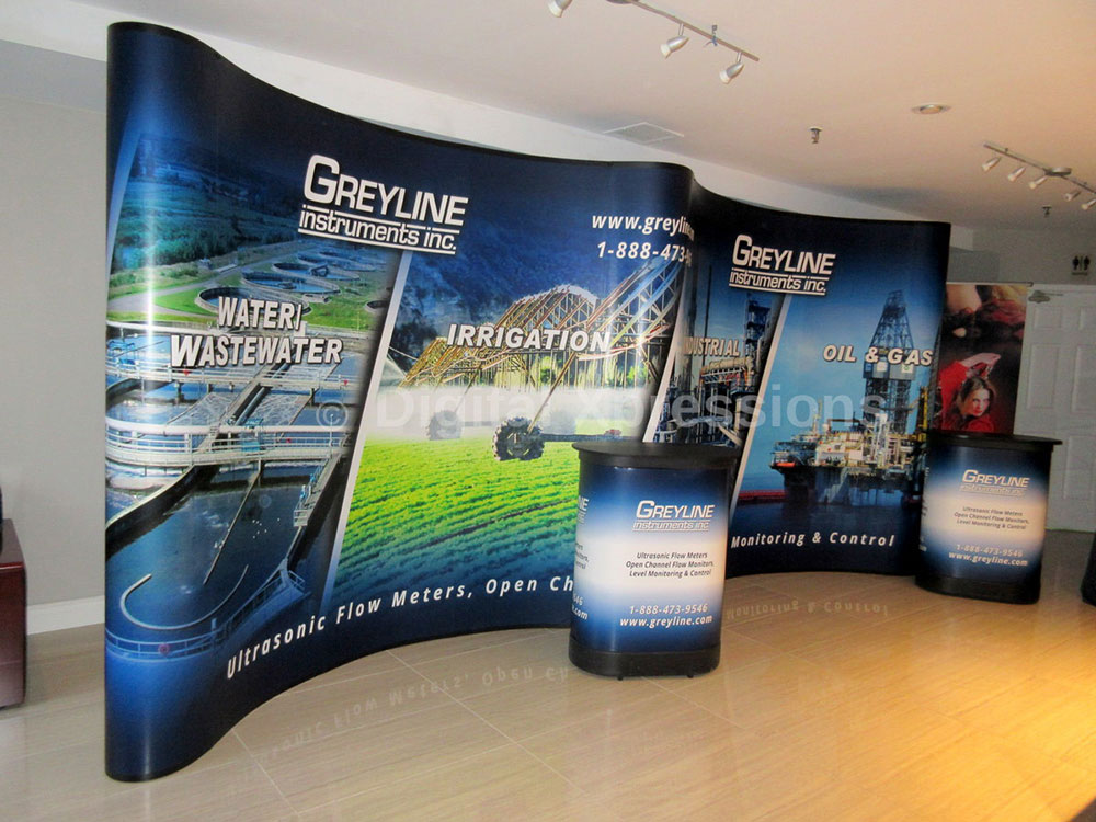 Trade Show Pop Up Booths Magnetic Pop Up Display