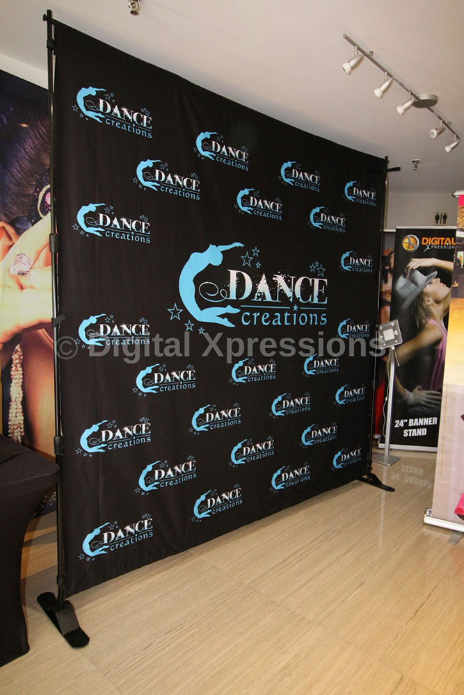 Step And Repeat Banners Media Banner Stands Extra Wide